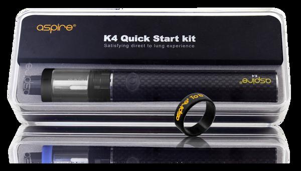 Aspire K4 Quick Start Kit Packaging