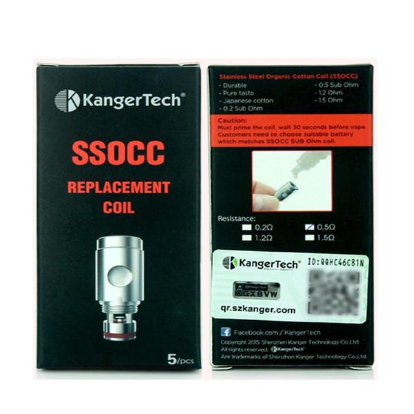 5 Pack Kanger SSOCC Coil Heads