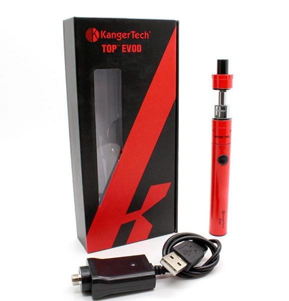 Kanger Top EVOD Vaping Starter Kit Packaging