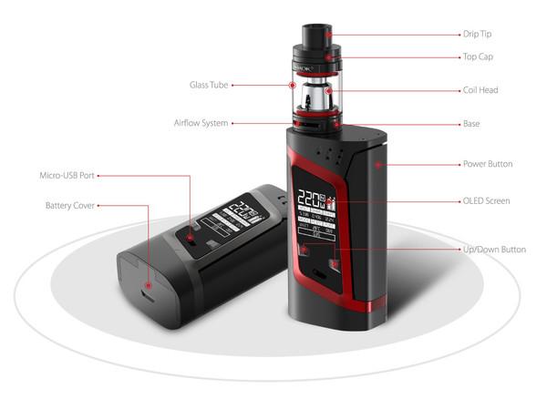 Smok Alien 220W Starter Kit