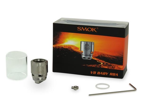 Smok TFV8 Baby RBA Kit Contents