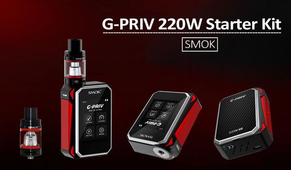 Smok G Priv 220W Starter Kit Free E Liquid Free Delivery