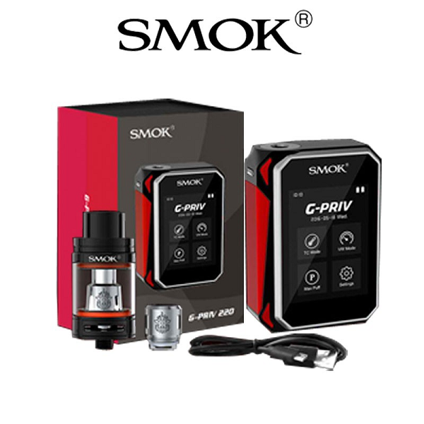 Smok G Priv 220W Starter Kit Contents
