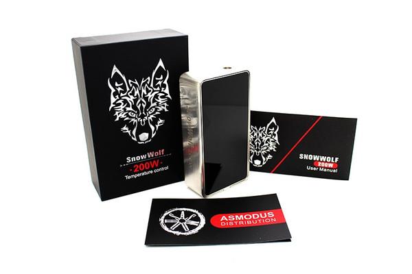 SnowWolf 200W  Box Mod Packaging