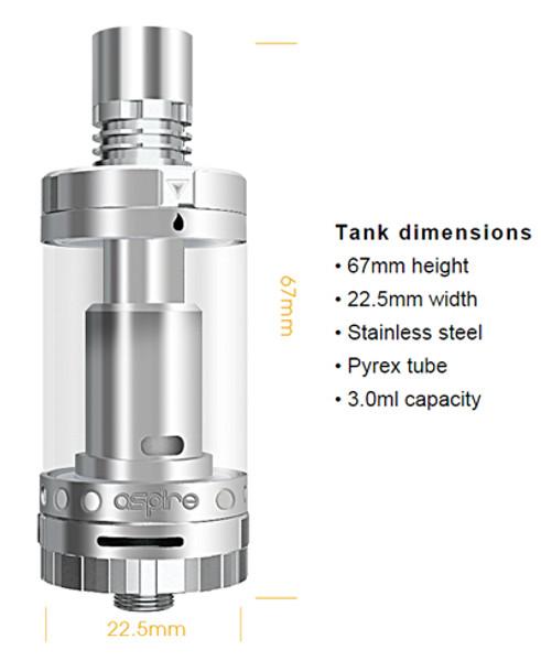 Aspire Triton 2 Tank Technical Specification