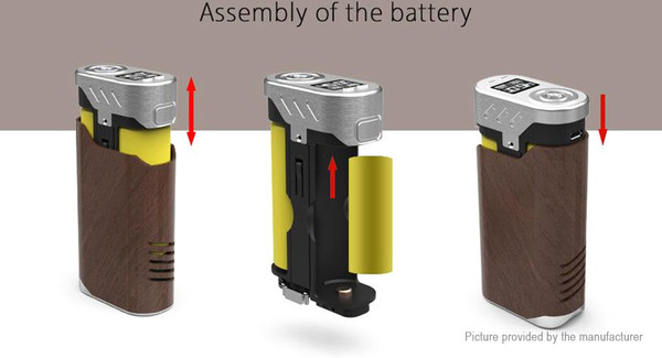 IJOY Limitless LUX 215w Battery Compartment