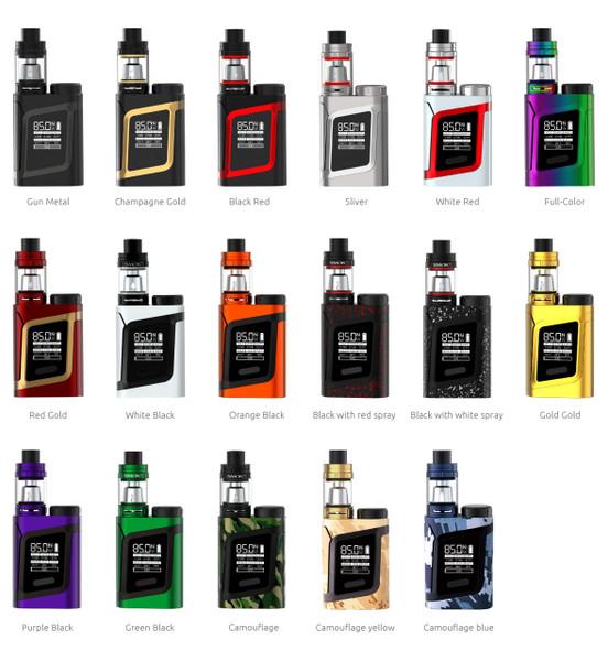 Smok AL85 Starter Kit Colours