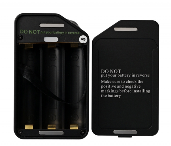 Wotofo Twisted 420 Tripple Box Mod Battery Compartment