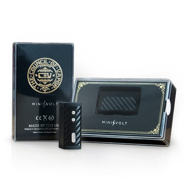 Council of Vapor Mini Volt Box Mod Packaging