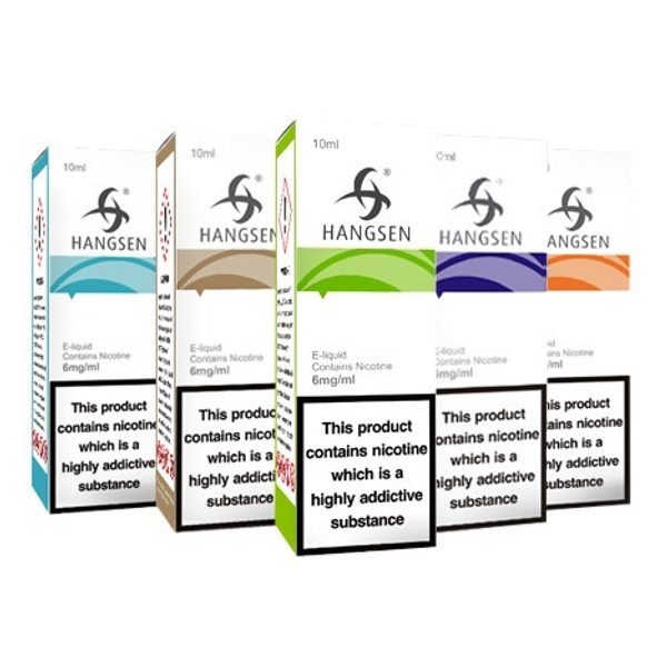 20 Hangsen 10ml E Liquids Variety Pack £12.99