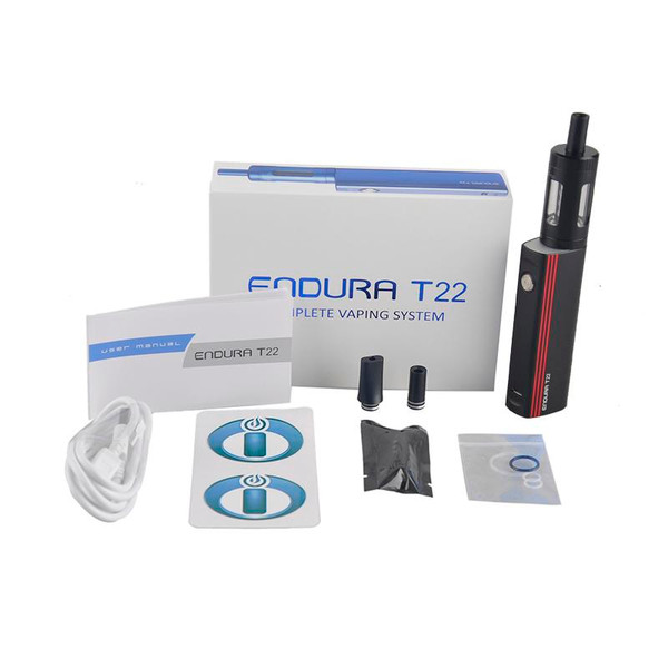 Innokin T22e Starter Kit Package Contents