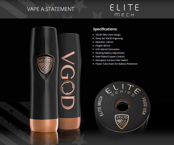VGOD Elite Mechanical Mod Free Delivery