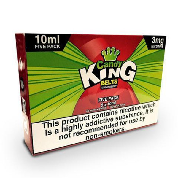 Strawberry Belts E Liquid 5 x 10ml By Candy King