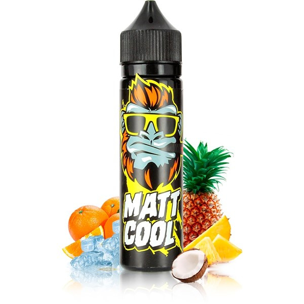Pineapple Dash E Liquid by Mattcool Vape Only £12.99 (Zero Nicotine)