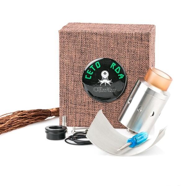 Cthulhu Ceto RDA Mesh Atomizer Packaging