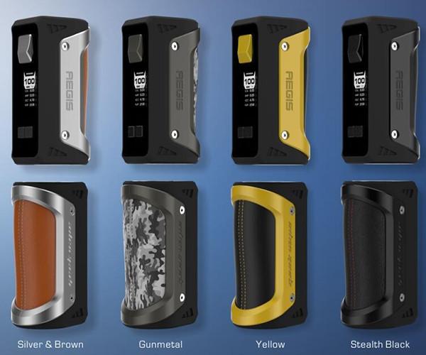 Geekvape AEGIS 100W TC Box Mod All Colours