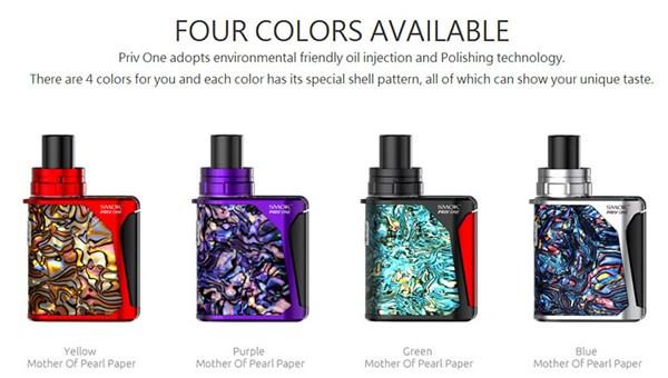 SMOK Priv One AIO Vaping Kit Colours