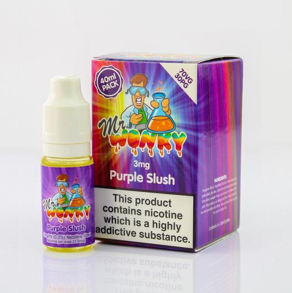 Purple Slush Eliquid 40ml By Mr Wonky