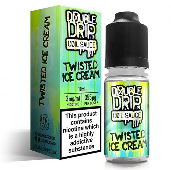 Twisted Ice Cream E Liquid By Double Drip Coil Sauce 10ml