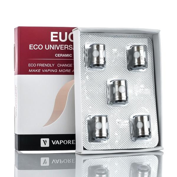 5 Pack Vaporesso Veco One EUC Ceramic SS316 Coils Packaging