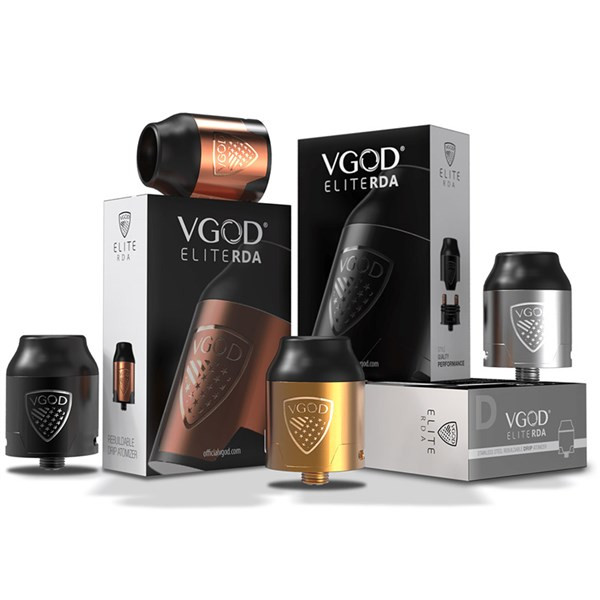 VGOD Elite RDA Packaging