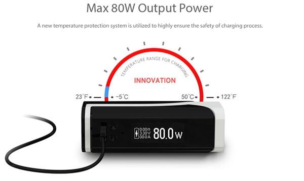 Eleaf iKuun i80 3000mah Vaping Mod Power