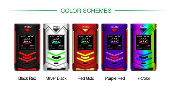 Smok Veneno 225w TC Box Mod Colours