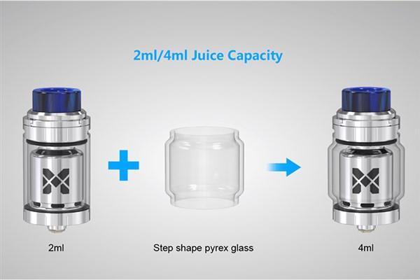 Vandy Vape Mesh 24 RTA Tank Expansion Glass