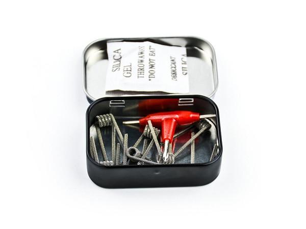 Demon Killer Prebuilt Wire Clapcetion Coil 0.35ohm 10pcs Box