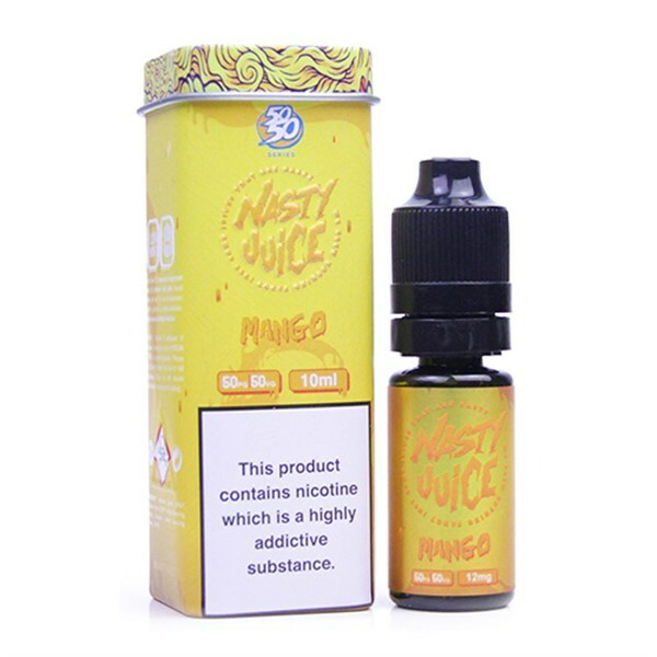 Mango Eliquid(Cush Man Yummy Fruity Series) By Nasty Juice