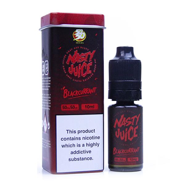 Blackcurrant Eliquid(Bad Blood) By Nasty Juice