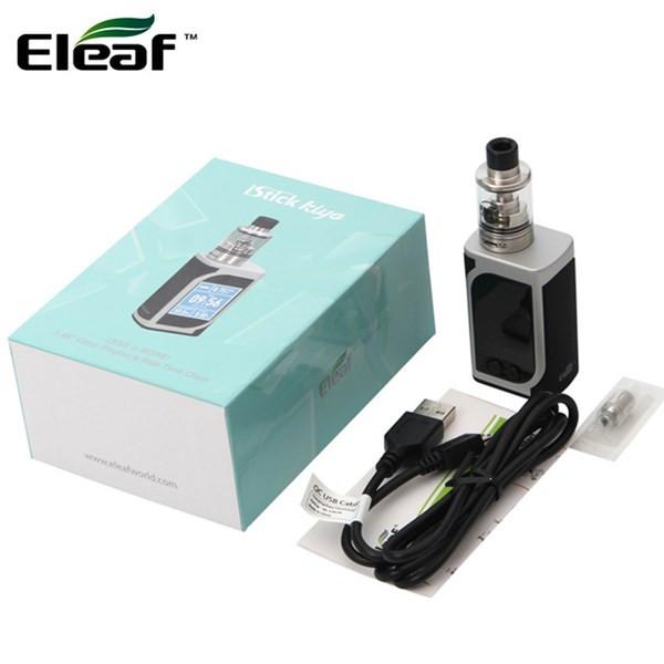 Eleaf iStick Kiya 50w TC Vaping Kit Box Contents