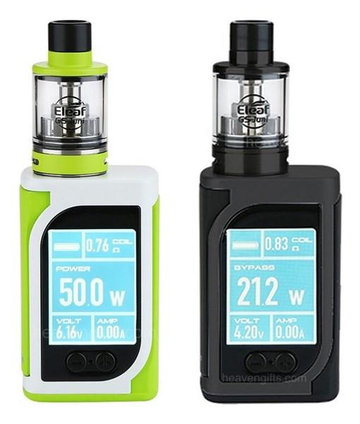 Eleaf iStick Kiya 50w TC Vaping Kit Free E Liquids Free Delivery