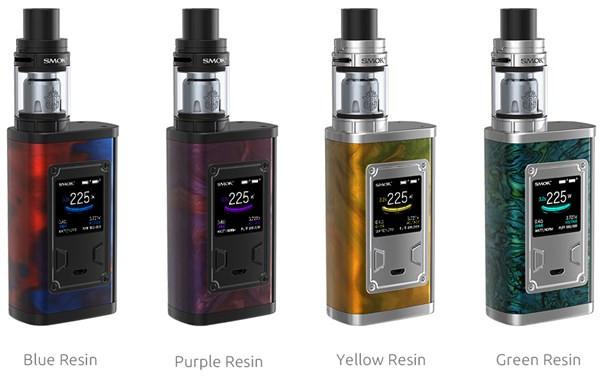 Smok Majesty 225w Resin Vaping Kit Colours