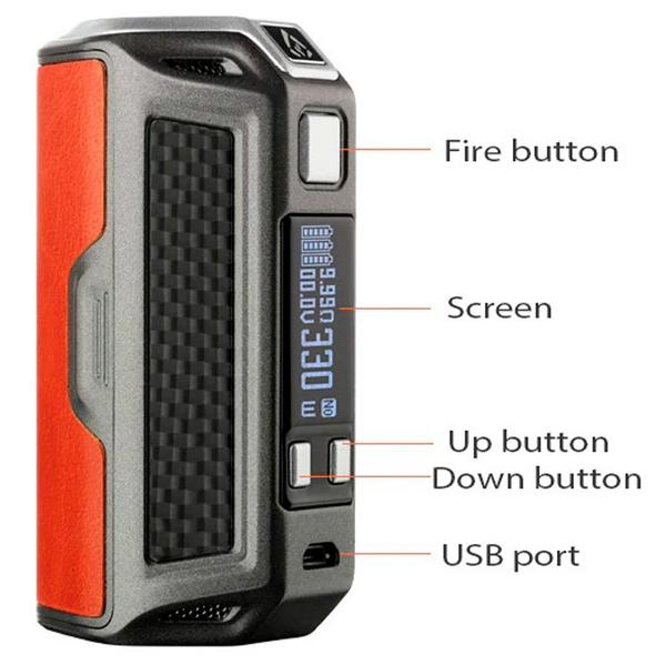 Rofvape Naga 330W Box Mod Features