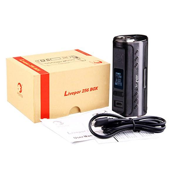 Yosta Liverpor 256 Box Mod Packaging