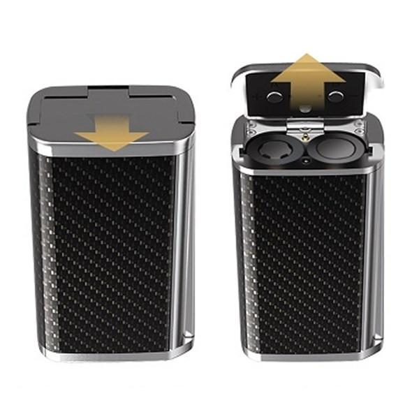 Smok Majesty 225w Carbon Fiber Mod Battery Compartment