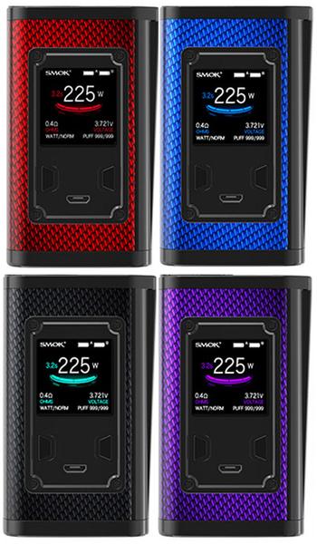 Smok Majesty 225w Carbon Fiber Vape Mod All Colours