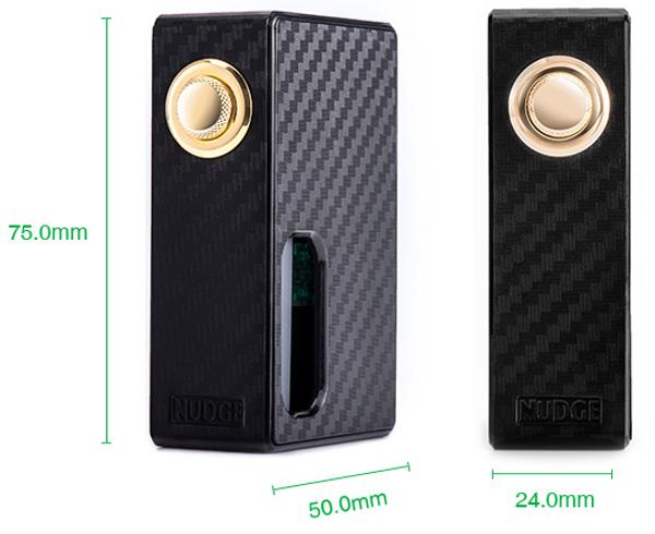 Wotofo Nudge Squonk Box Mod Dimensions