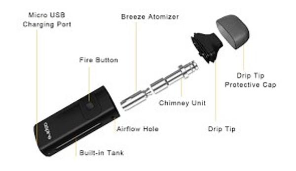 Aspire Breeze Vape Kit Parts