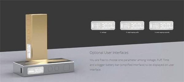 Eleaf BASAL Vaping Kit Interfaces