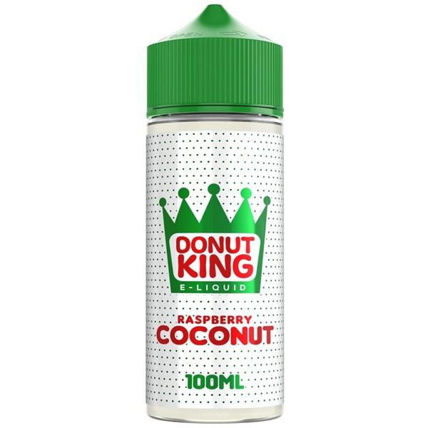 Raspberry Coconut E Liquid 100ml by Donut King