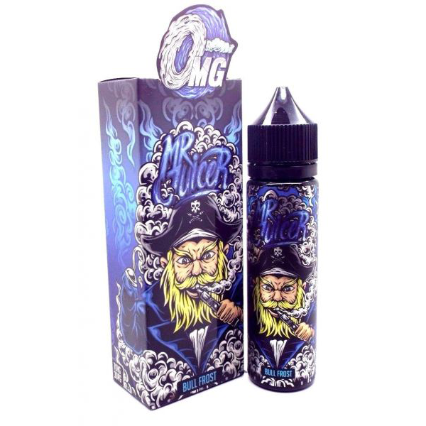 Bull Frost 50ml E Liquid (60ml with 1 x 10ml nicotine shots to make 3mg) by Mr Juicer Only £12.99 (FREE NICOTINE SHOT)