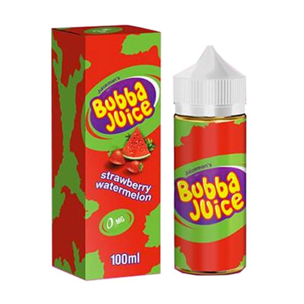 Strawberry Watermelon Bubba Juice by Juice Man USA Only £17.99(Zero Nicotine)