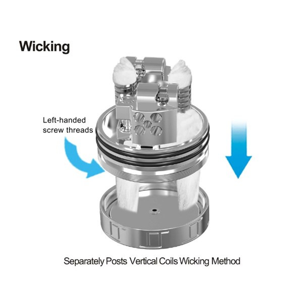 Oumier VLS RDA Wicking