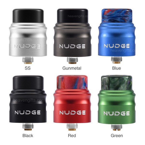 Wotofo Nudge 22mm Single Coil RDA Colours