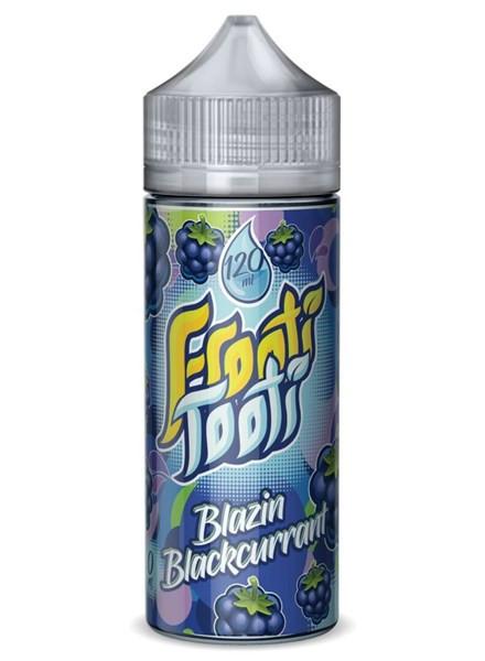 Blazin Blackcurrant E Liquid 100ml Shortfill (120ml with 2 x 10ml nicotine shots to make 3mg) by Frooti Tooti E Liquids Only £12.99 (FREE NICOTINE SHOTS)