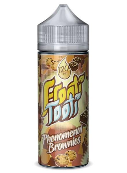 Phenomenal Brownies E Liquid 100ml Shortfill by Frooti Tooti E Liquids Only £9.99 (FREE NICOTINE SHOTS)