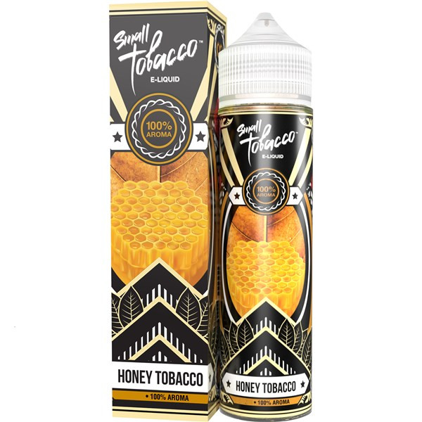 Honey Tobacco Eliquid(120ml with 2 x 10ml nicotine shots to make 3mg) by Small Tobacco E Liquid Only £18.99 (Zero Nicotine)