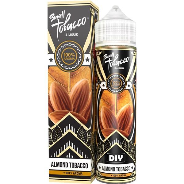 Almond Tobacco Eliquid(120ml with 2 x 10ml nicotine shots to make 3mg) by Small Tobacco E Liquid Only £18.99 (Zero Nicotine)